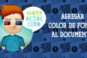 Agregar color de fondo a tu documento