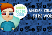 Agregar enlaces en documento Microsoft Word